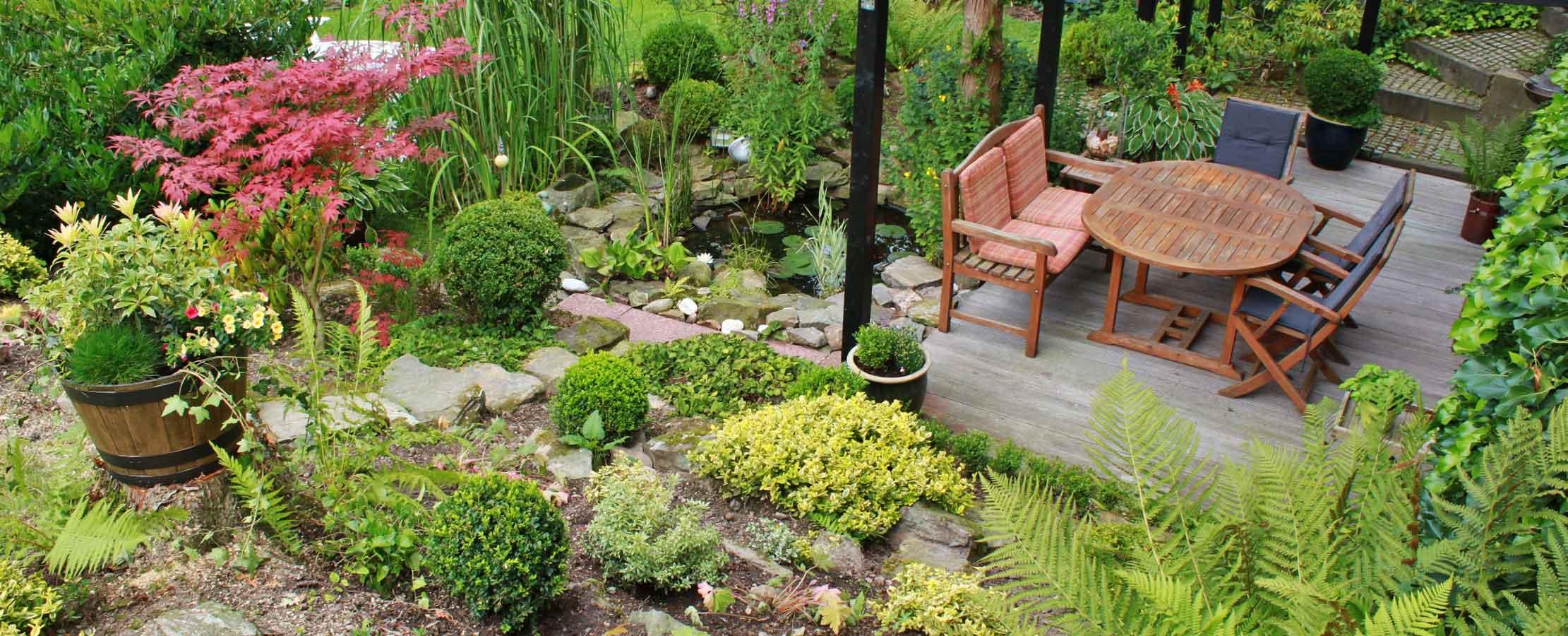 Kleiner Garten mit tolle ideen für ihr wohnideen