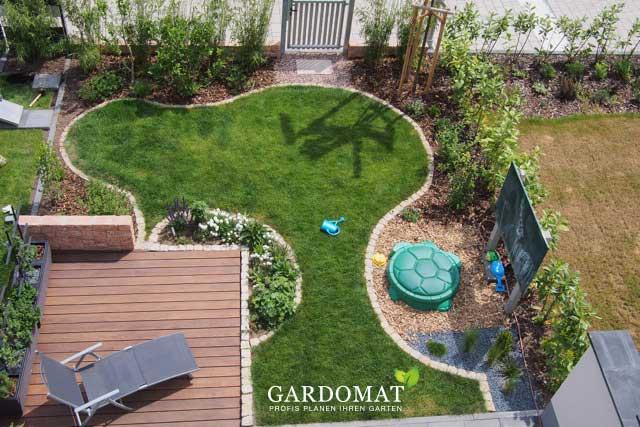 Garten Gestaltung gartengestaltung kleiner garten gardomat