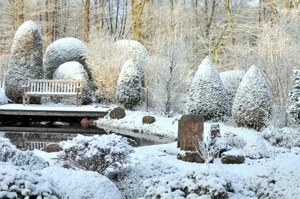 Die Gartengestaltung Im Winter - Gardomat Gartengestaltung Im Winter