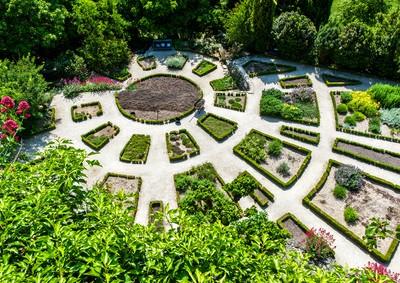 Französisch-barocker Garten