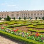 Parterre-Gestaltung vom Schloss Versailles