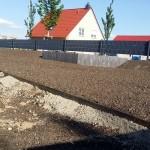 Foto Zwischenstand Rasenfläche