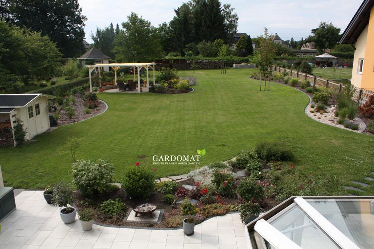 Nachher foto1 umgestaltung gardomat for Gartengestaltung 200 qm