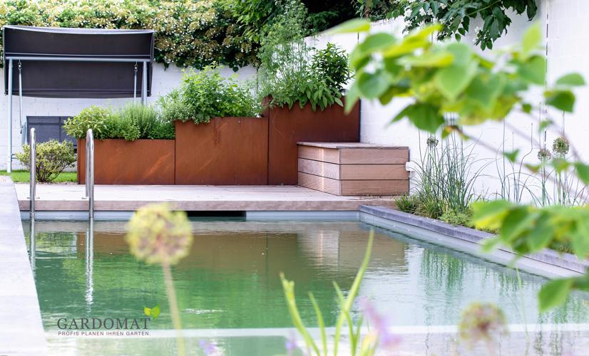 Foto Nachher 4 Moderne Gartenplanung