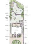 1. Ideenplan des großen, mediterranen Gartens