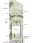 2. Ideenplan des großen, mediterranen Gartens