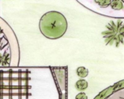Einstiegsbild klassischer Ferienhausgarten