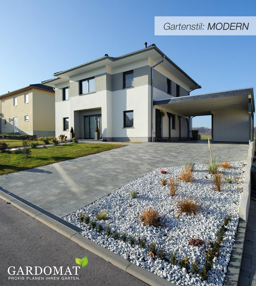 Einstieg Gartenstil: MODERN