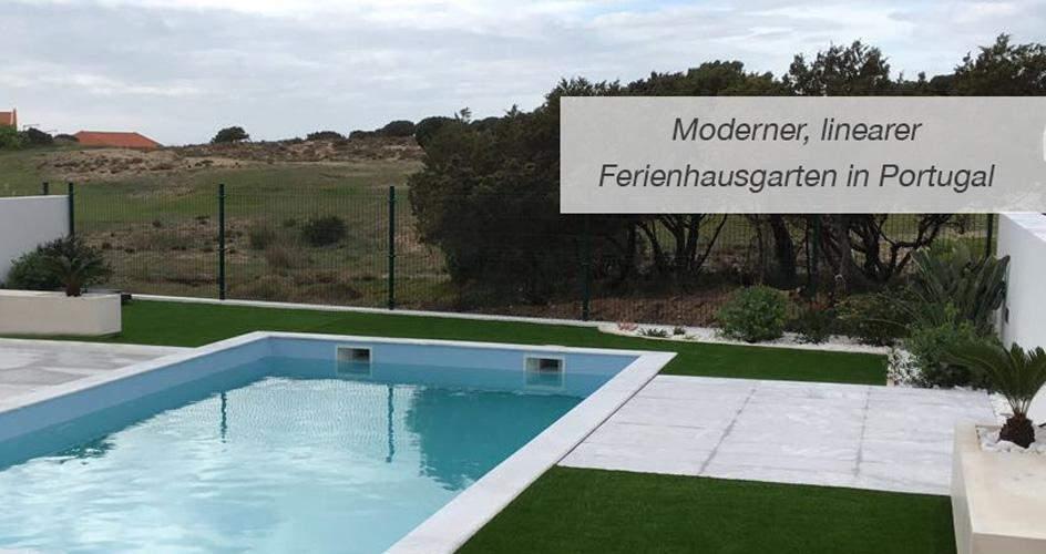 Einstiegsbild-modern-linearer-Ferienhausgarten-Portugal