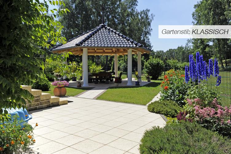 Einstiegsbild klassischer Garten