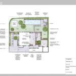 Ideenplan 1 puristischer gestufter Garten