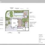Ideenplan 2 puristischer gestufter Garten