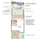 2. Ideenplan Ferienhausgarten mit Schwung
