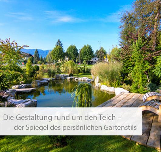 Einstiegsbild Teiche und Ihre Gartenstile