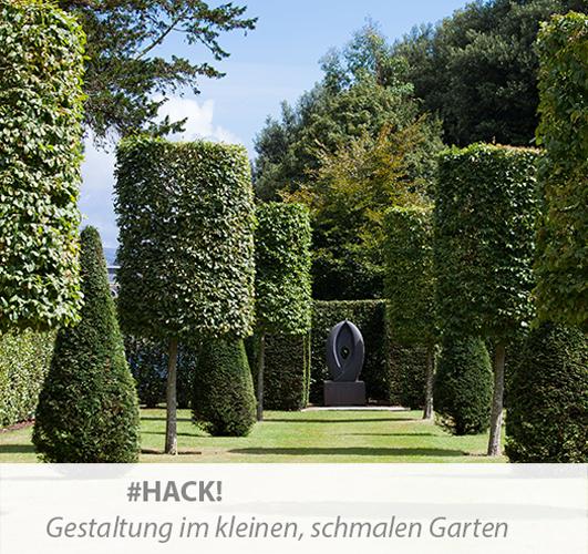 Einstiegsbild zum Thema Gestaltungstipps für den schmalen Garten