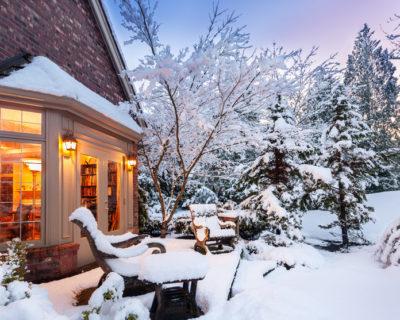Schnee und dessen Wirkung im Garten