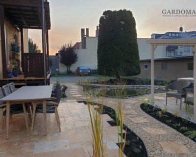 Einstiegsbild kleiner Garten mediterran gestalten